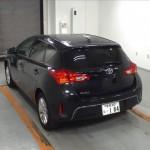 2014 Toyota Auris rear