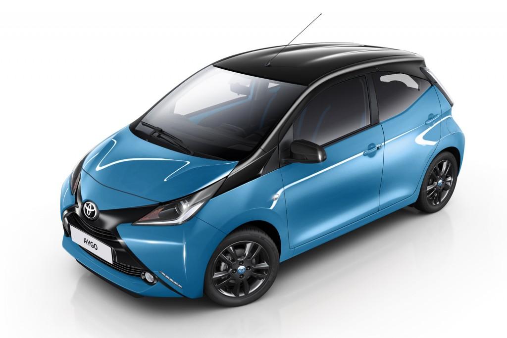 2015 Toyota Aygo X-Cite Bicolor