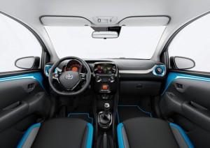 2015 Toyota Aygo X-Cite interior