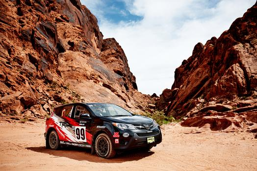 2015 Toyota RAV4 Rally Car