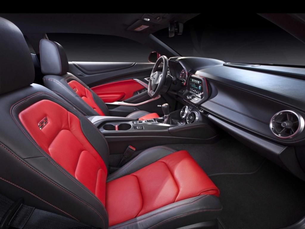 2016 Chevrolet Camaro SS interior