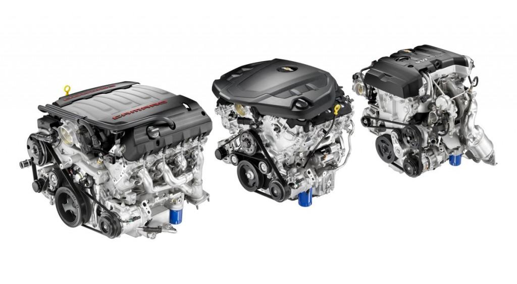 2016 Chevrolet Camaro engines