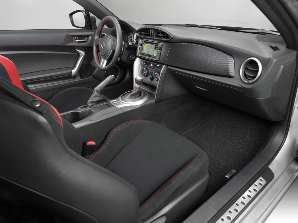 2016 Scion FR-S interior