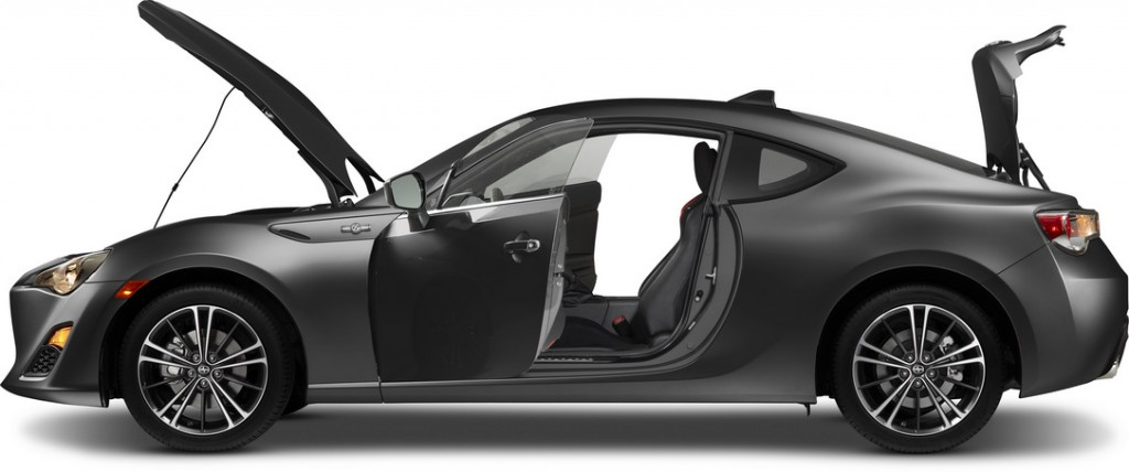 2016 Scion FR-S profile
