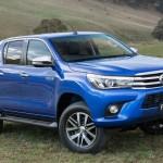 2016 Toyota Hilux blue