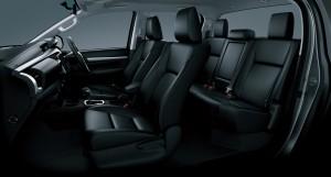 2016 Toyota Hilux interior