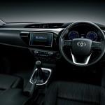 2016 Toyota Hilux interior dash