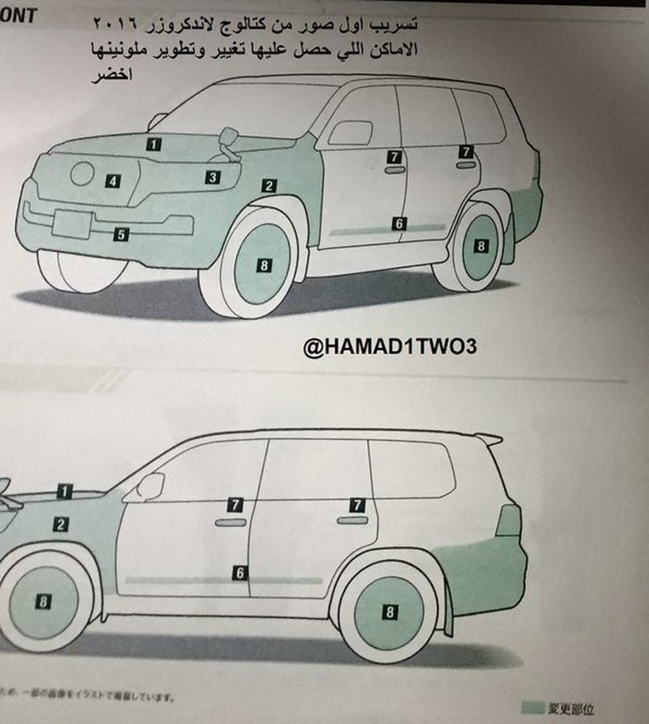 2016 Toyota Land Cruiser Spy Shot 3