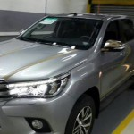 Toyota Hilux spy shot