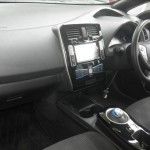 2014 Nissan LEAF interior