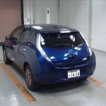 2014 Nissan LEAF rear