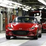 2016 Mazda MX-5 manufactured