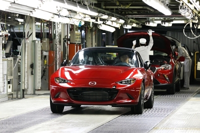 2016 Mazda MX-5 manufactured