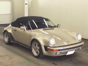 Porsche 911 Speedster 1989 front
