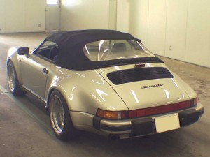 Porsche 911 Speedster 1989 rear