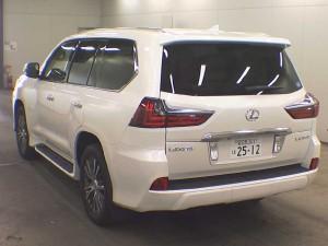 Lexus LX570 rear