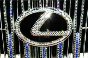 Lexus bling grill