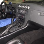 1996 Dodge Viper at auction in Japan - interior