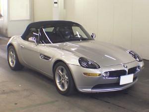 BMW Z8 Front