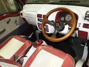 VW-style Subaru Samar Dias - interior