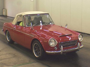 Datsun Fairlady SR311 at auction in Japan - front