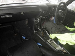 Datsun Fairlady SR311 at auction in Japan - interior