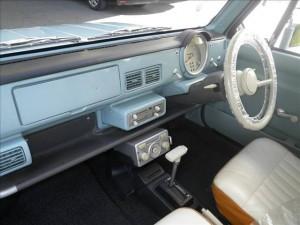 Nissan Pao at Japanese car auction -interior