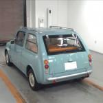 Nissan Pao at Japanese car auction -rear