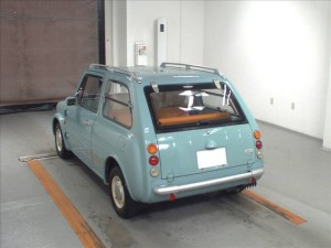 Nissan Pao at Japanese car auction -rear