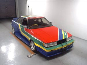 1984 Toyota MARK II at auction - front