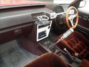 1984 Toyota MARK II at auction - interior 1