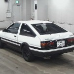 1984 Toyota Sprinter Trueno at auction in Japan-- rear