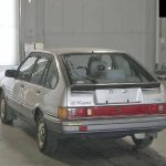 1985 Toyota Corolla at auction in Japan -- rear