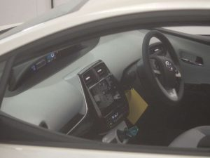 2016 Toyota Prius at Japanese car auction -- inside
