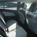 2016 Toyota Prius at Japanese car auction -- rear seat