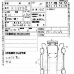 RD1 Honda CR-V auction in Japan - auction inspection report