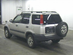 RD1 Honda CR-V auction in Japan - rear
