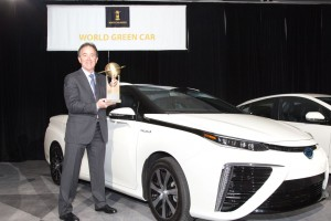 Toyota Mirai World Green Car of the Year 2016
