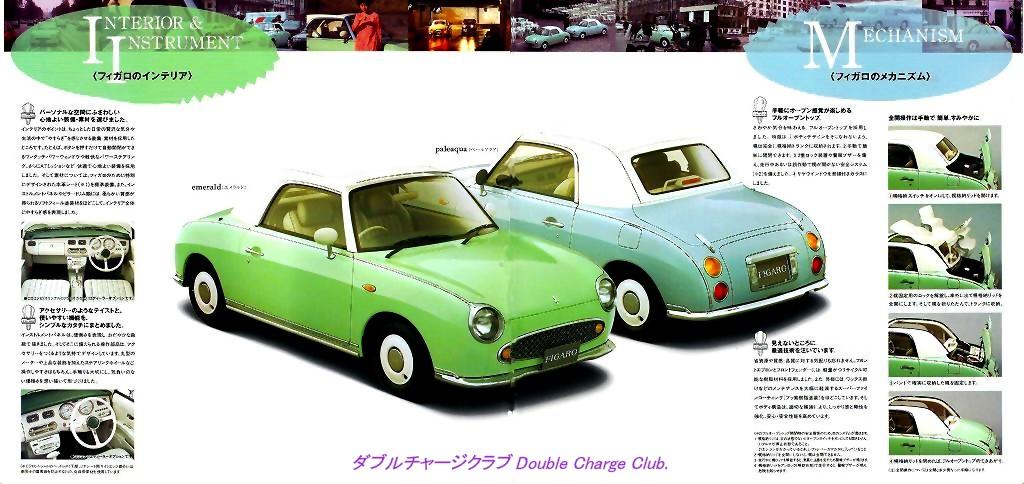 Nissan Figaro catalog