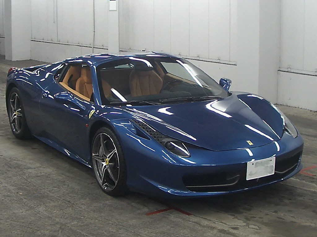 Japan Car Auction Finds Ferrari 458 Italia Spider Japanese Car Auctions Integrity Exports
